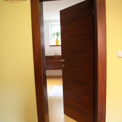 Orechové nteriérové dvere - dyhované
