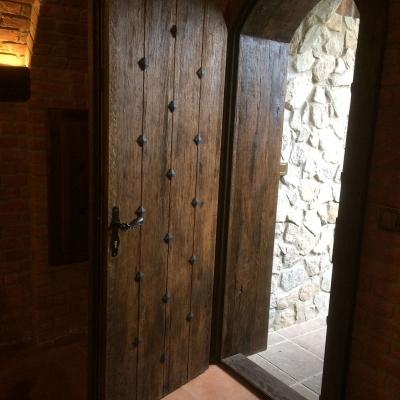 Dubové kartáčované dvere masívne - exteriérové dvere s akusticko-tepelnou izoláciou freestylefurnituresk